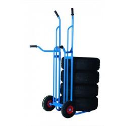 Diable à pneus, capacité 200 kg