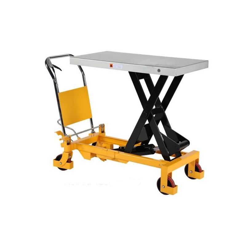 Table élévatrice manuelle, charge 150 à 500 Kg