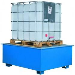 Palette de rétention pour 1 conteneur CIPAX
