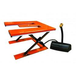 Table élévatrice électrique plateau en E