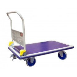 Chariot avec frein PRESTAR, charge 500 kg