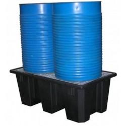 Bac de rétention polyéthylène recyclé 220 l
