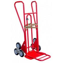 Diable roues étoiles pelle repliable 250 kg caoutchouc