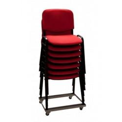 Chariot porte chaises 150 kg