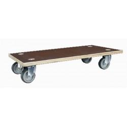 Plateau roulant bois glissnot 150 kg