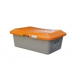Bacs à sel et sable CEMO, capacité 100 à 200 litres