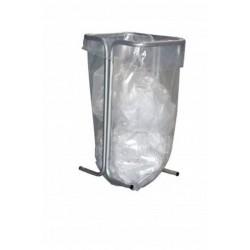 Support sacs poubelles souples fixe