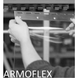 Rideau lanière PVC décrochable Hauteur 4000 mm
