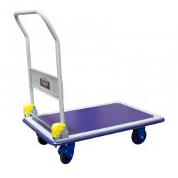Chariot de magasin à dossier rabattable PRESTAR, charge 300 kg