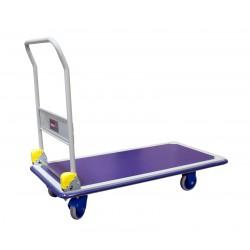 Chariot de magasin à dossier rabattable PRESTAR, charge longues 300 kg