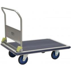 Chariot de magasin à dossier rabattable PRESTAR, charge 500 kg
