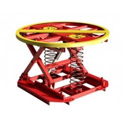 Table élévatrice à niveau constant et plateau pivotant à 360°