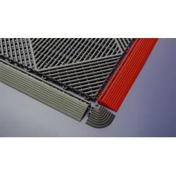 Lot de 4 angles bordures de dalles damier Quattro Line