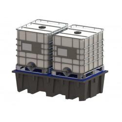 Bacs de rétention plastique pour rayonnage