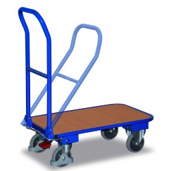 Chariot à dossier repliable avec EASY STOP