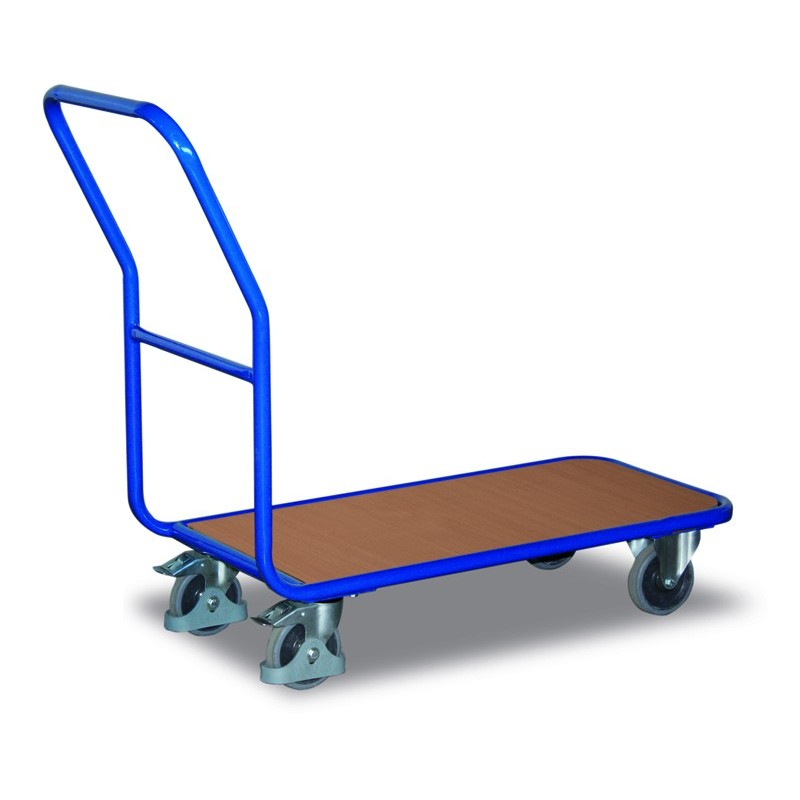 Chariot de magasin en acier mécano-soudé