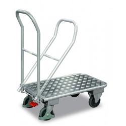 Chariot en aluminium à dossier repliable avec EASY STOP
