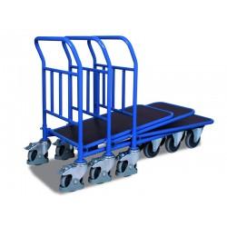 Chariot C + C avec plateau contreplaqué traité hydrofuge