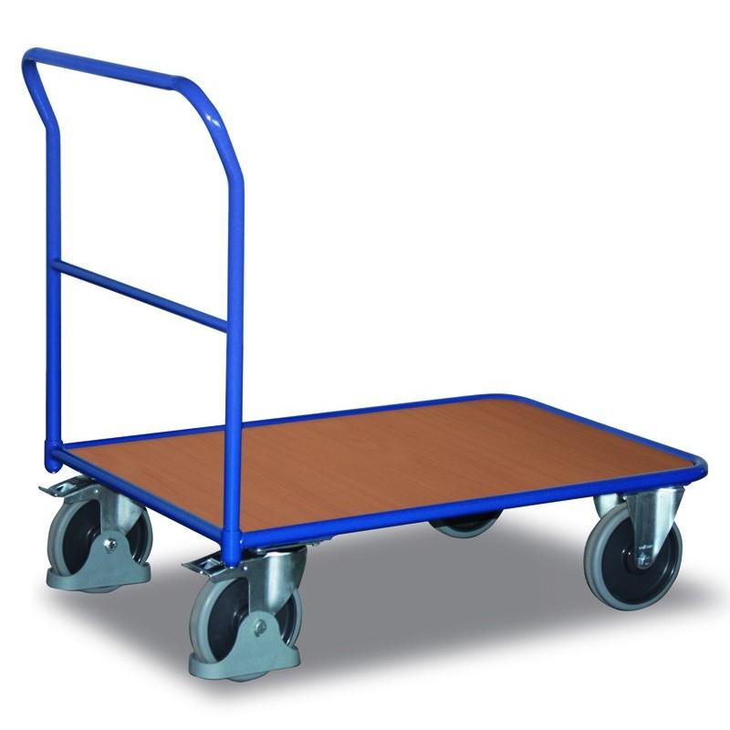 Chariot de magasin à dossiers tubulaires