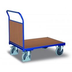 Chariot modulaire avec panneaux en bois