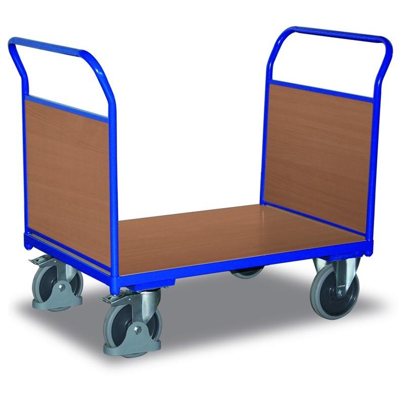 Chariot modulaire à 2 dossiers bois