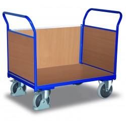 Chariot modulaire à 3 panneaux bois
