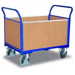 Chariot modulaire à 4 panneaux bois