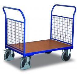 Chariot modulaire à 2 dossiers grillagés