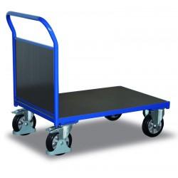 Chariot pour charges lourdes à 1 dossier