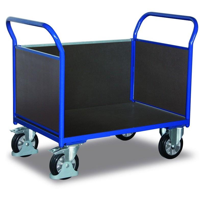 Chariot pour charges lourdes à 3 panneaux