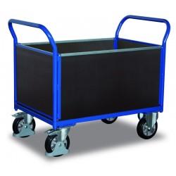 Chariot pour charges lourdes à 4 panneaux