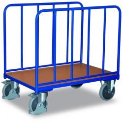 Chariot à 2 arceaux avec 2 panneaux tubulaires