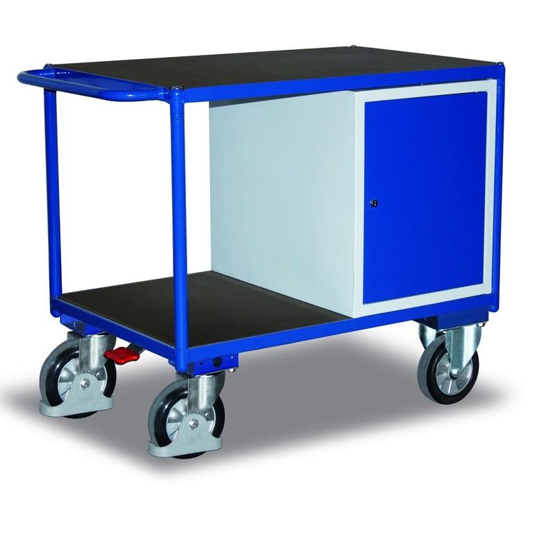 Etabli mobile pour charge lourdes avec frein central EASY STOP