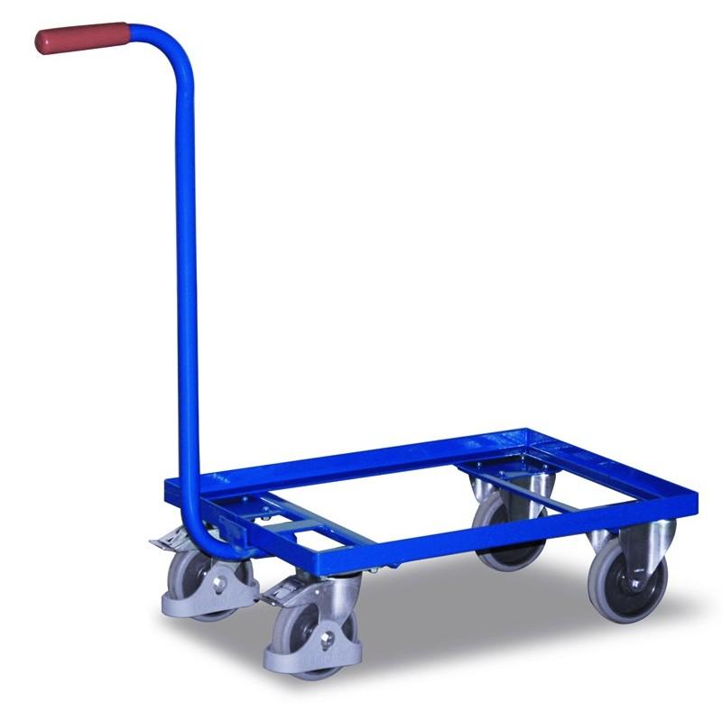 Chariot col de cygne sans bac plastique