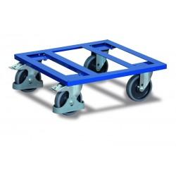 Plateau roulant pour caisses, cadre ouvert